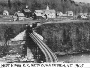 Dummerston Railroad Bridge