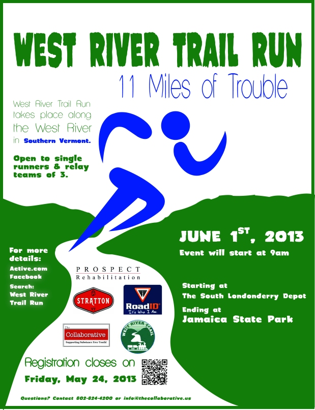 West Trail Run June 1st: Calling Runners and Race Volunteers