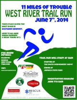 The West River Trail Run June 7, 2014