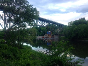 I-91 bridge from west river trail