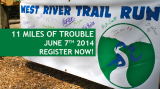 West River Trail Run Saturday June 7th