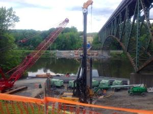 Vermont I-91 Bridge Construction