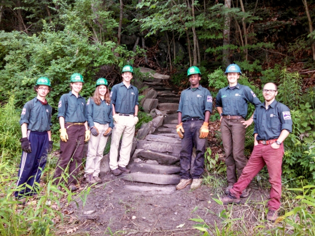 Trail Work: VYCC & New Steps