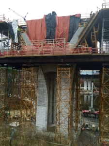 West River Trail Bridge Construction