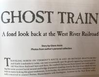 West River Railroad, Vermont Magazine