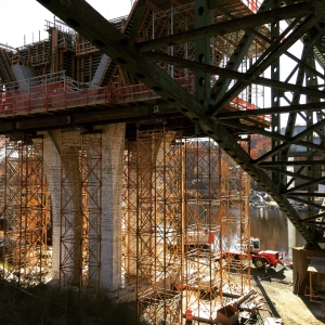 I-91 Bridge Construction