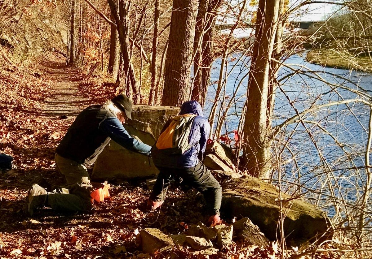 West River Trail Boulder Work
