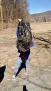 West River Trail, Community Service cleanup