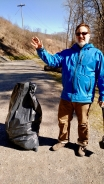 West River Trail Community Service cleanup