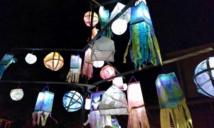 Lanterns, image courtesy Gowri Savoor.
